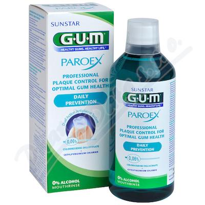 GUM ústní voda Paroex (CHX 0.06%) 500ml G1702EME