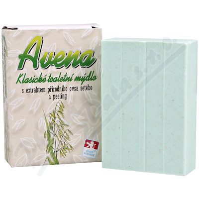 AVENA-Klas.toalet.mýdlo s extr.ovsa a peeling 100g