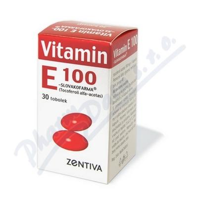 Vitamin E 100 Zentiva por.cps.mol.30x100mg