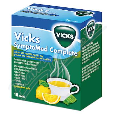 Vicks SymptoMed complete citrón por.plv.sol.10