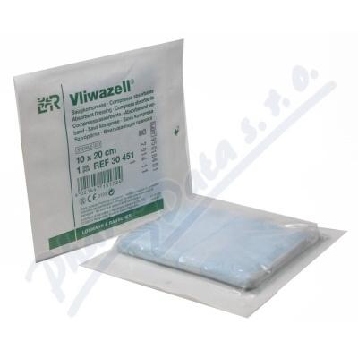 Komprese Vliwazell ster.vys.absorp.10x20cm 30ks