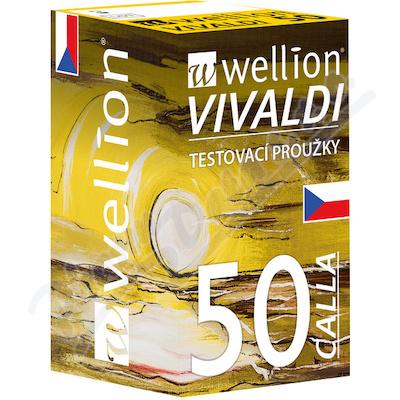 Wellion VIVALDI CALLA testovací proužky 50ks