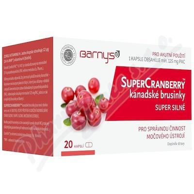 Barnys SuperCranberry kanadské brusinky cps.20