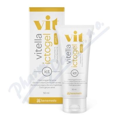 Vitella Ictogel čistící gel proti akné 50ml
