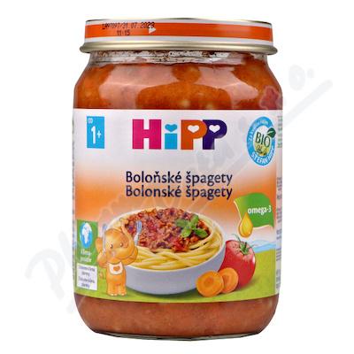 HiPP MENU BIO Špagety v bol.om. 250g