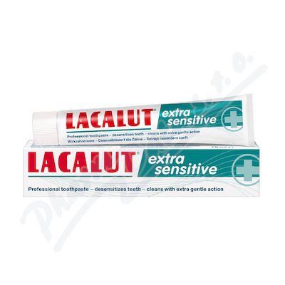 Lacalut Extra Sensitive zubní pasta 75ml