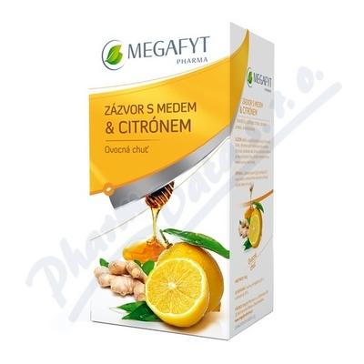Megafyt Ovocný Zázvor s medem a citrónem 20x2g