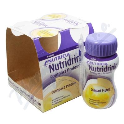 Nutridrink Compact Protein př.van. por.sol.4x125ml