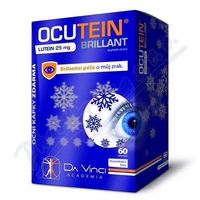 Ocutein Brillant Lutein 25mgDaVinci 60tob.+kapky