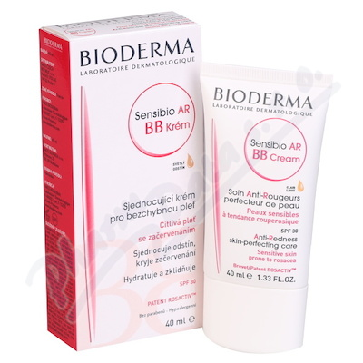 BIODERMA Sensibio AR BB Krém 40 ml