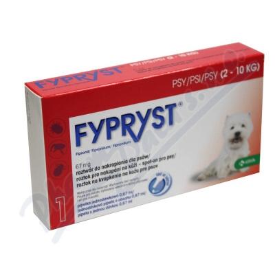 Fypryst Dogs spot-on pro psy 1x0.67ml