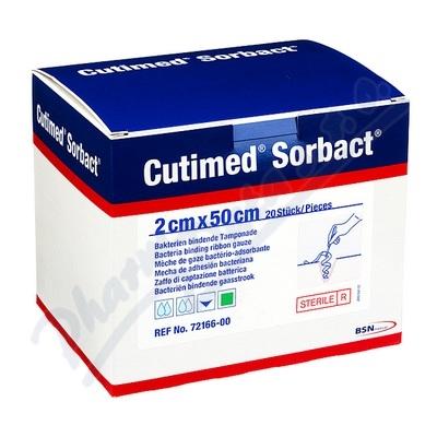Cutimed Sorbact antimikr.krytí pří.v roli 2cmx50cm