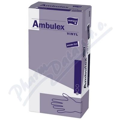 Ambulex Vinyl rukavice vinyl.nepudrované L 100ks