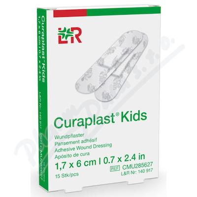 Náplast Curaplast Kids pro děti ster.1.7x6cm 15ks