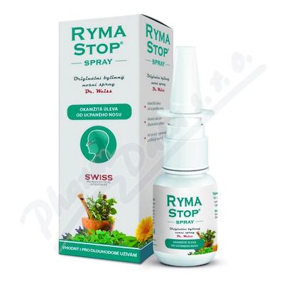 RymaSTOP Dr. Weiss - bylinný nosní spray 30ml