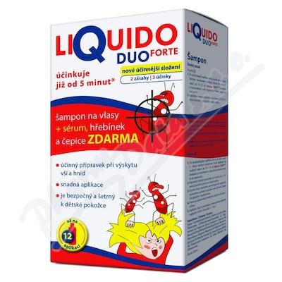 LiQuido DUO Forte šampon na vši 200ml + sérum