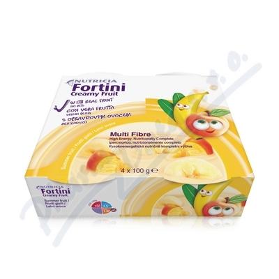 Fortini Creamy Fruit Multi Fibre letní ov. 4x100g