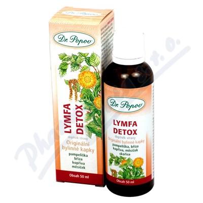 Dr.Popov Kapky bylinné Lymfa-Detox 50ml