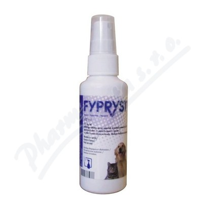 Fypryst sprej 2.5mg/ml Kožní sprej roztok 1x100ml