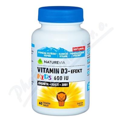 NatureVia Vitamin D3-Efekt Kids tbl.60