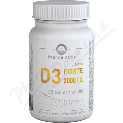 Vitamín D3 FORTE 2000 I.U.tbl.30