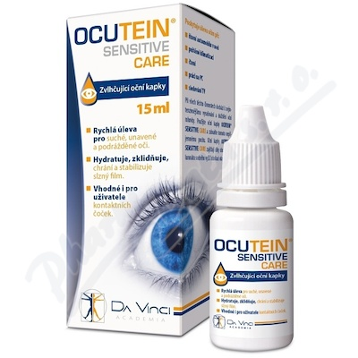 Ocutein SENSITIVE CARE oční kapky 15ml DaVinci