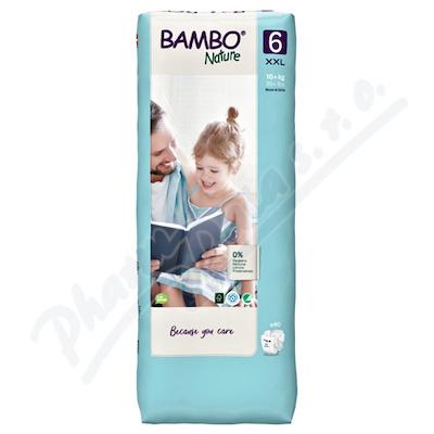 Bambo Nature 6 děts.plenkové kalhotky 16+ kg 40ks