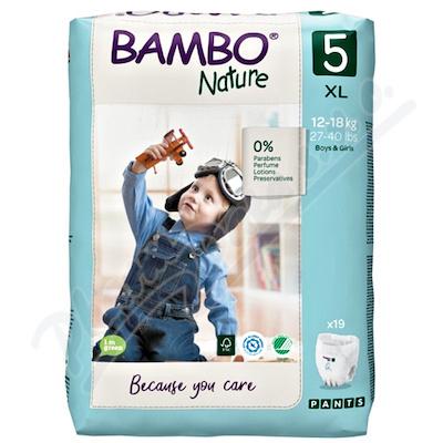 Bambo Nature Pants 5 navl.pl.k.trenink12-18kg 19ks