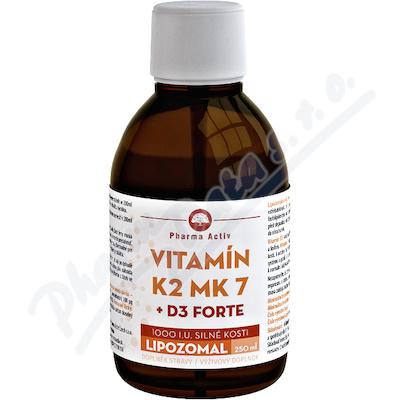 LIPOZOMAL Vitamin K2 MK7+ D3 1000 I.U.250ml