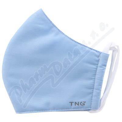 Rouška textilní 3-vrstvá modrá vel.M 1ks