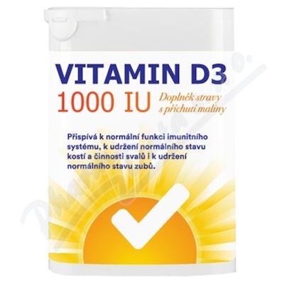 Vitamin D3 1000 IU tbl.60