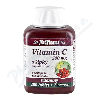 MedPharma Vitamin C 500mg s šípky prod.úč.tbl.107