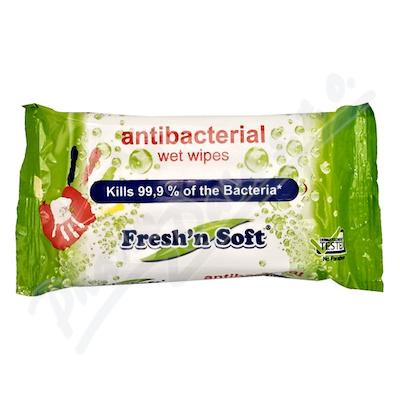 Ubrousky vlhčené antibakteriální na ruce 15ks