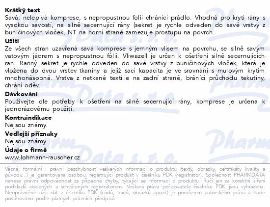 Komprese Vliwazell ster.vys.absorp.10x10cm 60ks