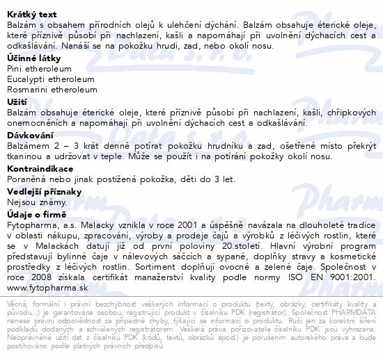 Tatranská průdušková směs balzám 40 g