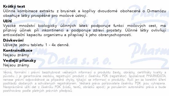 nefdesanté Brusinky D-Manóza Kopřiva tbl.60