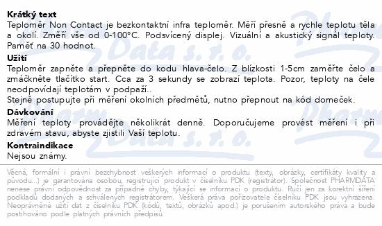 Geratherm Teploměr bezkontaktní Non Contact
