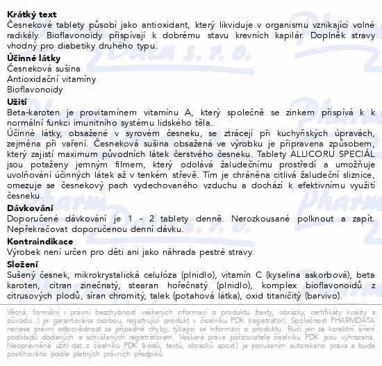 NATURVITA Allicor Speciál tbl.60