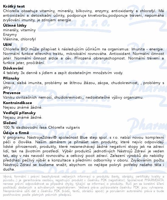 Chlorella BIO 50g tbl.200