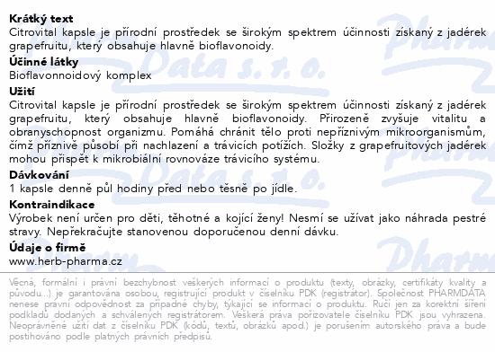 Fytofontana Citrovital cps.30