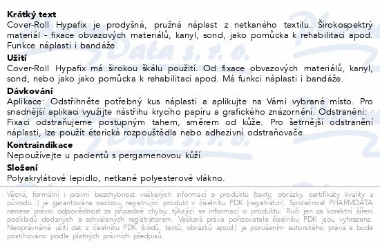 Cover Roll Hypafix 30cmx9.2m nápl.z NT bez polšt.