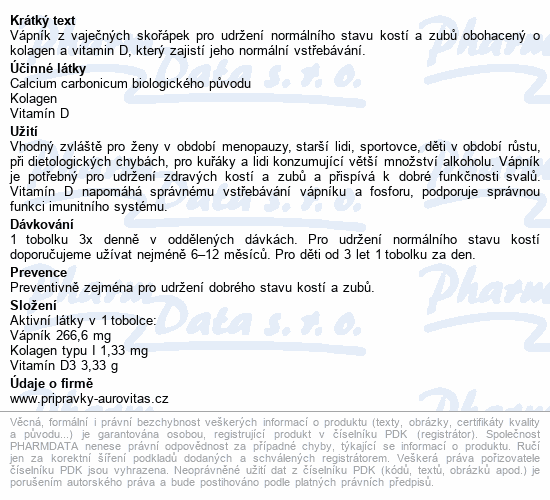 Colacal vápník + D3 tob.60