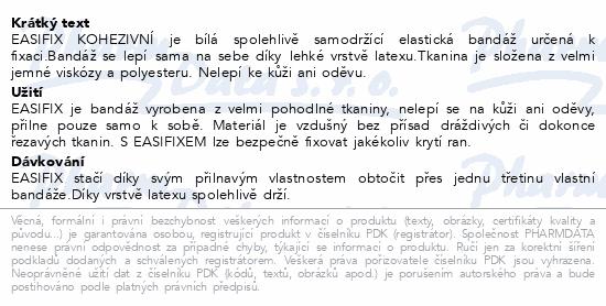Easifix obinadlo bílé kohezivní 10cmx4m 1ks
