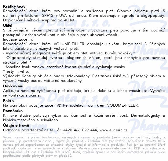 EUCERIN HYALURON FILLER+VOL-LIFT den. n/sm. 50ml