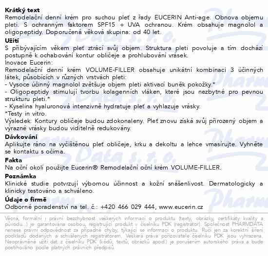 EUCERIN HYALURON FILLER+VOL-LIFT den suchá p. 50ml